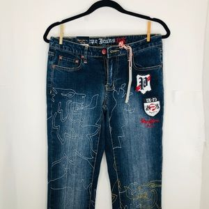 New Pepe jeans women's bellbottom jeans